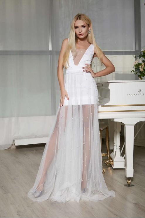 c01a80b3023 Сексуальное платье мини-макси из шелка  купить оптом в Украине ...