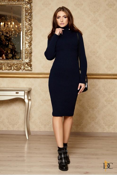 f14272b3bb8 Вязаное платье-лапша из шерсти  купить оптом в Украине