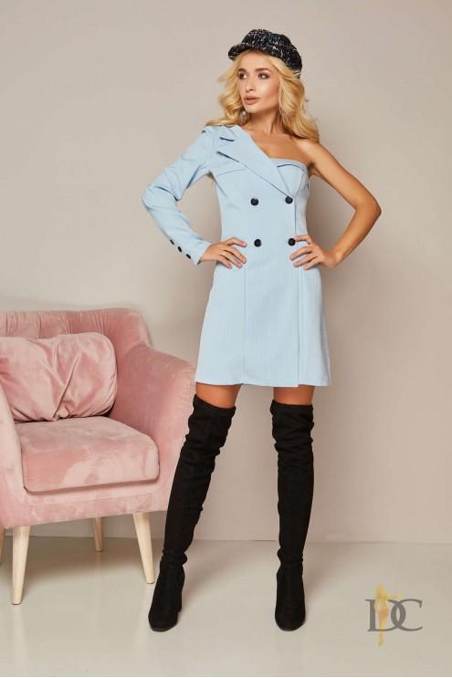 837aa4f3a0f Оригинальное платье-пиджак в полоску  купить оптом в Украине