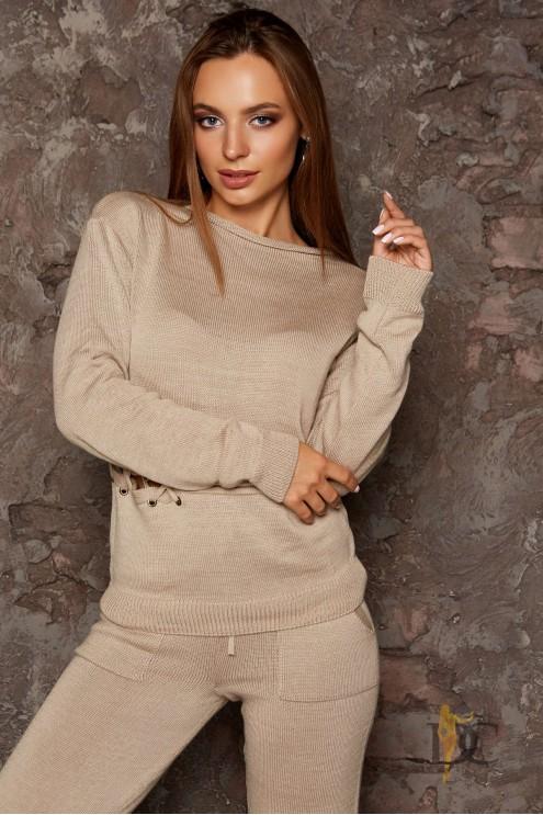 Модный теплый вязаный костюм  купить оптом в Украине   Цена 1600 грн ... 10dc84ecaab