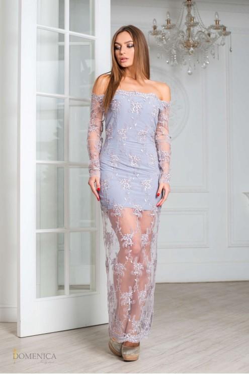 b3e1166cd11 ... Изящное вечернее платье из дорогого французского кружева. Предыдущий  Следующий. Нажмите