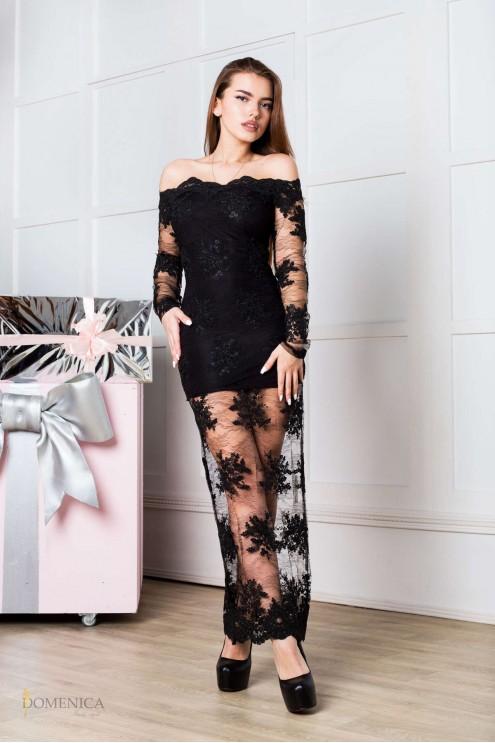 96647faffab ... Изящное вечернее платье из дорогого кружева. Предыдущий Следующий.  Нажмите