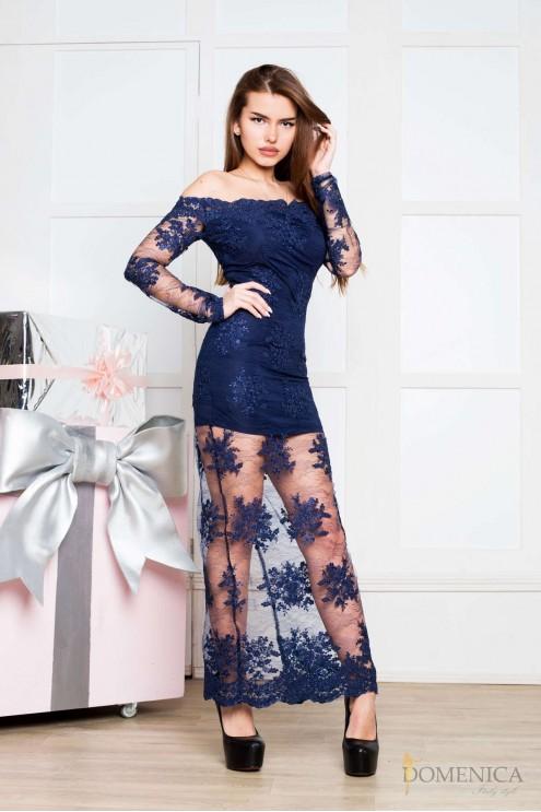 e9d00c05398 ... Эксклюзивное изящное платье из дорогого кружева. Предыдущий Следующий.  Нажмите