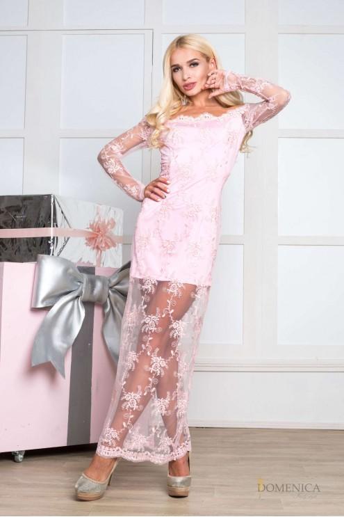 1c5d07e4522 ... Эксклюзивное изящное вечернее платье из французского кружева. Предыдущий  Следующий. Нажмите