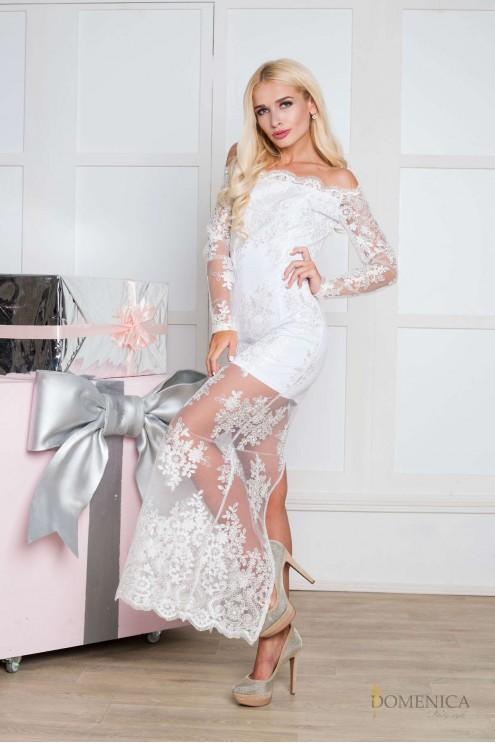 46ead54ce21 ... Эксклюзивное изящное платье из французского кружева. Предыдущий  Следующий. Нажмите