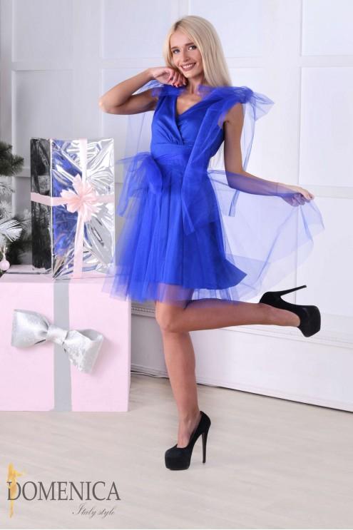 3bce270e0cb ... Праздничное оригинальное воздушное платье из фатина. Предыдущий  Следующий. Нажмите